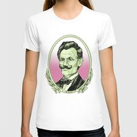 lincoln T-shirts featuring Lincoln by Esteban Ruiz