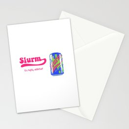 future ad Slurm Stationery Cards