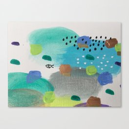 The Beautiful Chaos Canvas Print