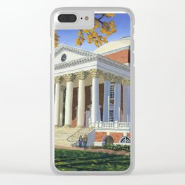 The Rotunda, UVA Clear iPhone Case