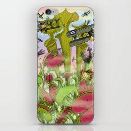 Plants Vs Planes iPhone Skin