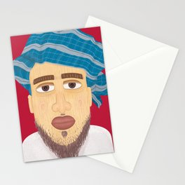 Omani  Fisherman Stationery Cards