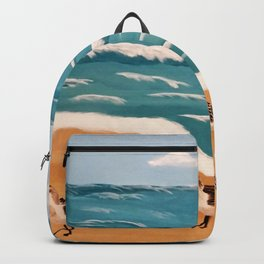 Sand Pipers on the Beach Backpack