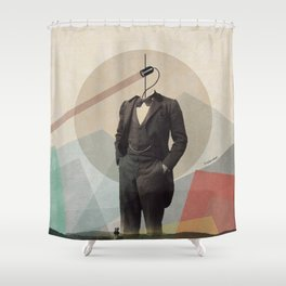 Retro vision Shower Curtain