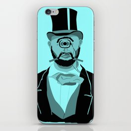The Greatest Mustache Unknown to Man iPhone Skin