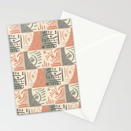 Tribal Tiles Stationery Cards