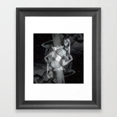 He Hit Me (and it felt like a kiss) Framed Art Print