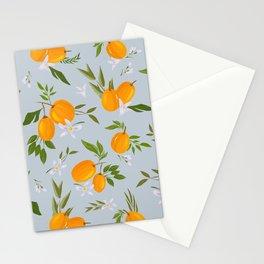 Blue kumquat Stationery Cards