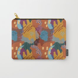 Autumn Abstract Painting Carry-All Pouch