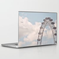 plane Laptop & iPad Skins featuring wheely small plane... by Chernobylbob