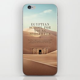 Wizarding Schools Around the World: Egypt iPhone Skin