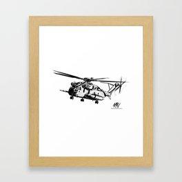 CH-53 Framed Art Print