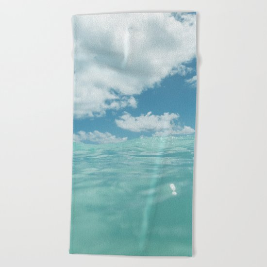Hawaii Water VII Beach Towel