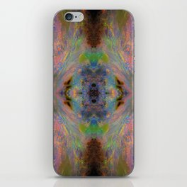 Australian Opal From Winton on fractal design iPhone Skin