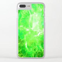 KRYPTONITE Clear iPhone Case