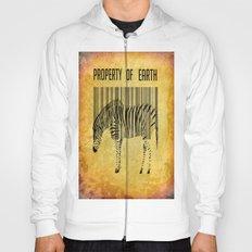 The encoded zebra Hoody