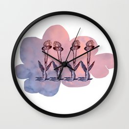 INGRID AND HER FRIENDS TAKE THE DANCE FLOOR Wall Clock