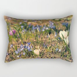 Crocus-crocus Rectangular Pillow