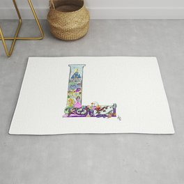 L is for Lucca Rug