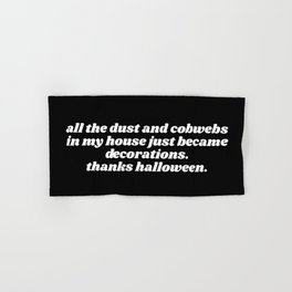 thanks halloween Hand & Bath Towel
