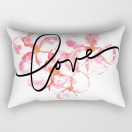 "Plumeria Love - A Romantic way to say, ""I Love You"" Rectangular Pillow"
