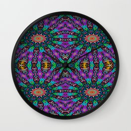 Arrow Kaleidoscope Wall Clock