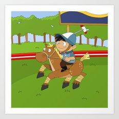 Non Olympic Sports: Polo Art Print