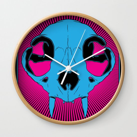 The Cats Meow Wall Clock