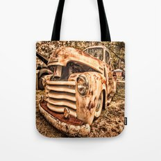 Old pickup ( Photo by Antal Ullmann ) Tote Bag