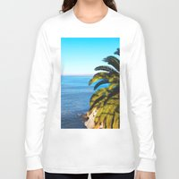 san diego Long Sleeve T-shirts featuring San Diego Overlook by Tdrisk46