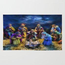 Birth of Jesus Rug