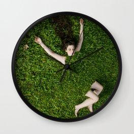 Green Mareen Wall Clock