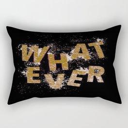 Brown Whatever Rectangular Pillow