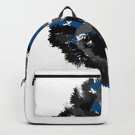 Wild cluster: blue Backpack
