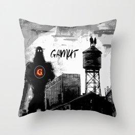 Gamut Throw Pillow