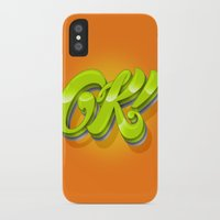 kim sy ok iPhone & iPod Cases featuring Ok by Roberlan Borges