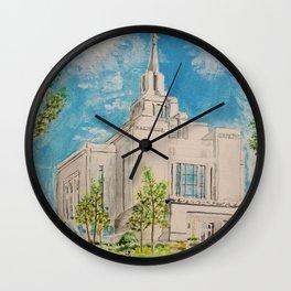 Kyiv Ukraine LDS Temple Wall Clock