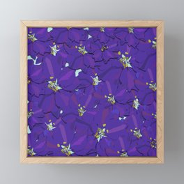 Larkspur Love Framed Mini Art Print