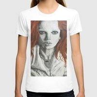 siren T-shirts featuring Siren by Ariana Dewing
