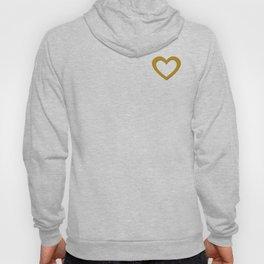 Giant Gold Heart Hoody