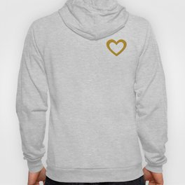 Pure Gold Heart Hoody