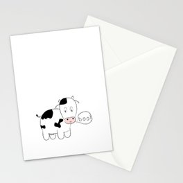 SOLD! Scary Cow - Inspired by a True Incident! Stationery Cards