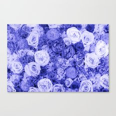 bouquet ver.ultramarine Canvas Print