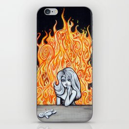 Hell Hath No Fury iPhone Skin