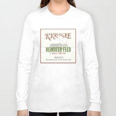 Christmas Reindeer Feed sack Long Sleeve T-shirt