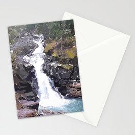 Washington Waterfall Stationery Cards