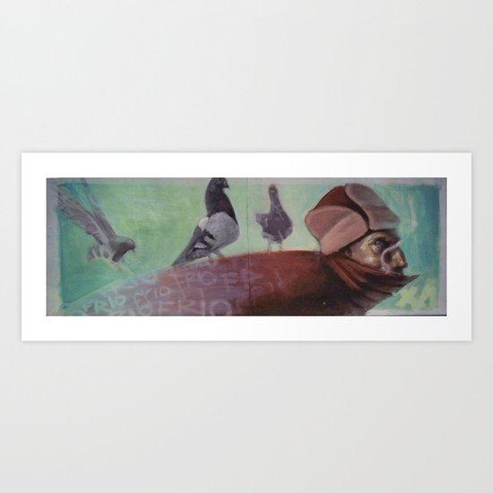 palomas Art Print