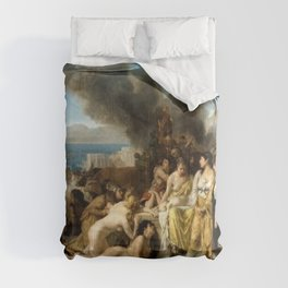 Tony Robert-Fleury - The Last Day of Corinth Comforters