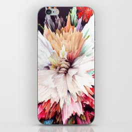 Floral Explosion iPhone Skin