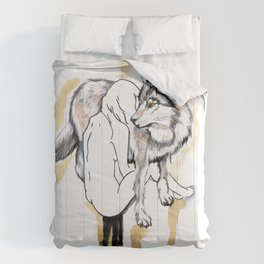The Girl And The Wolf Comforters